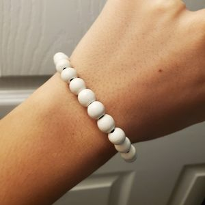Men's Karmaloop White Bracelet